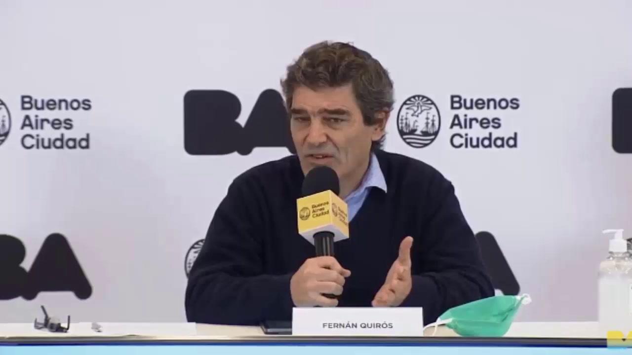"""Fernán Quirós: """"Tenemos que ir progresando en una apertura prudente"""""""